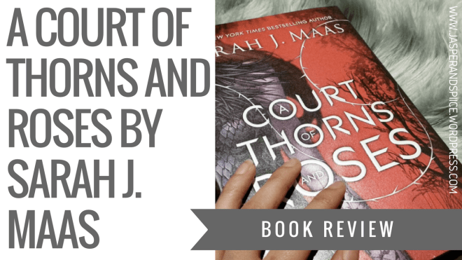 a court of thorns and roses book review blog header - A Court Of Thorns And Roses by Sarah J. Maas | Spoilery-ish Review