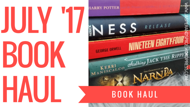 july book haul blog header - July Book Haul!