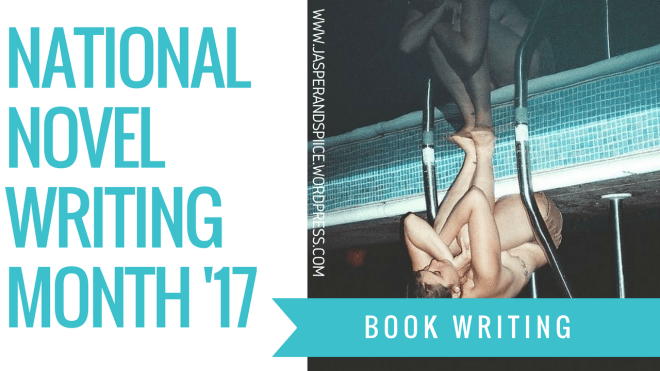 nanowrimo 2017 blog header - I AM WRITING A BOOK!