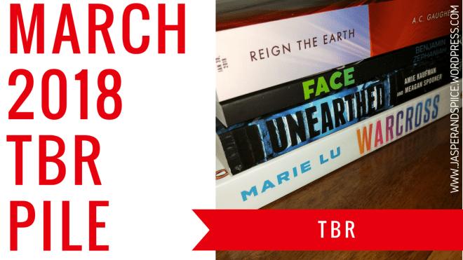 march 2018 tbr blog header - March TBR!!!