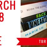 march 2018 tbr blog header - February Wrap-Up + Book Haul !!!!