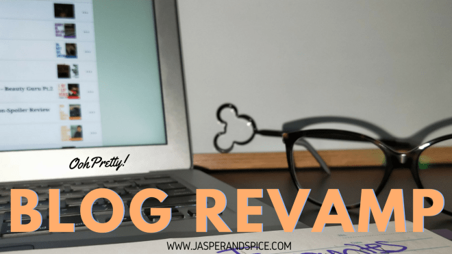 blog revamp 2018 header - Changing Face: Blog Revamp!