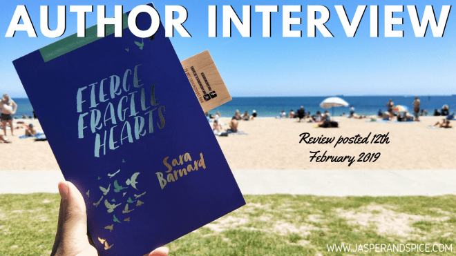 fierce fragile hearts author interview 2018 header - Fierce Fragile Hearts by Sarah Barnard | Author Interview