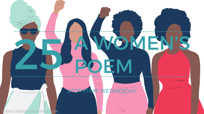 poems about women 25 blog header - A Woman's Poem (SW#25)