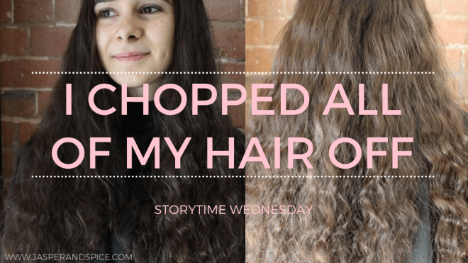 I Chopped All Of My Hair Off Blog Header - I Chopped All My Hair Off!