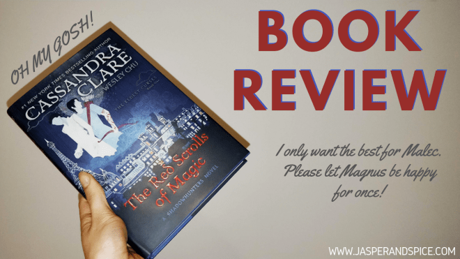 The Red Scrolls of Magic by Clare and Chu Book Review 2019 Header - Red Scrolls of Magic by Cassandra Clare and Wesley Chu | Spoilery Review