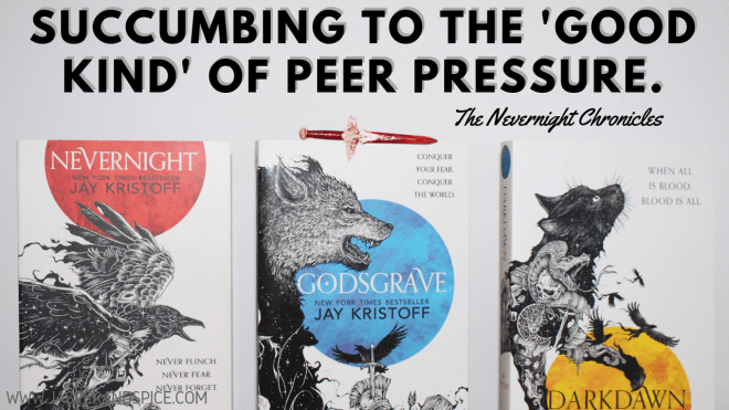 Succumbing to the  good kind  of peer pressure 2019 Header - Succumbing to Peer Pressure (The Good Kind).