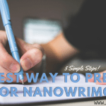 The Best Way To Prepare and Plan for Nanowrimo 2019 Header - What The Woods Keep by Katya De Becerra | Spoiler-Free Review