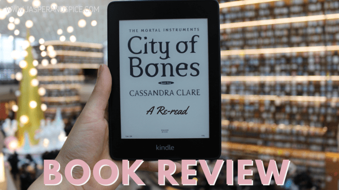 City of Bones Re read Book Review 2019 Headder - City of Bones by Cassandra Clare | Re-read Book Review