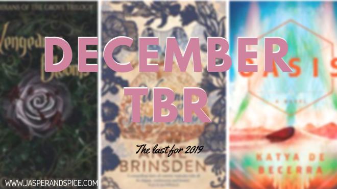December 2019 TBR Headder - The Last TBR For 2019!