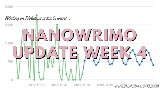 NaNoWriMo Week 4 Update - The Truth About Writing On Holidays - NaNoWriMo Week 4 Update