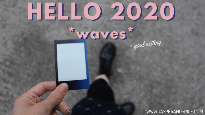 2020 Blog Header - Happy New Year & 2020 Goal Setting (wow all my posts are falling on the big holidays hehe)