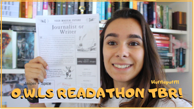 o.w.ls Readathon tbr - A Hufflepuff Does The OWLs Magical Readathon! TBR Post + YouTube Video!