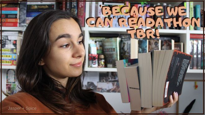 Because We Can Readathon TBR Thumbnail - BECAUSE WE CAN Readathon (What is it? My TBR & YT Video)