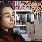 Because We Can Readathon TBR Thumbnail - 6 Month Writing Update, CampNaNo Wrap-Up & Writer's Block (SW#54)