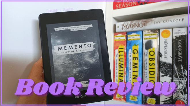 Memento Novella Review Spoiler 2020 Blog Header - Memento by Jay Kristoff & Amie Kaufman | Novella Spoiler Chat