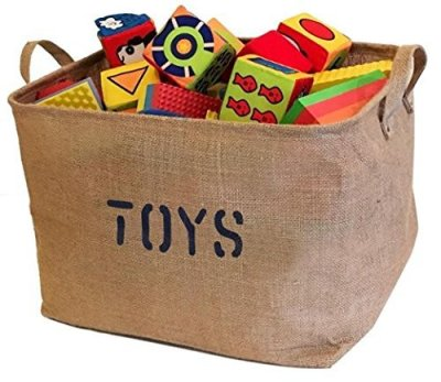 The Best Playroom Decor Finds On Amazon - toys basket