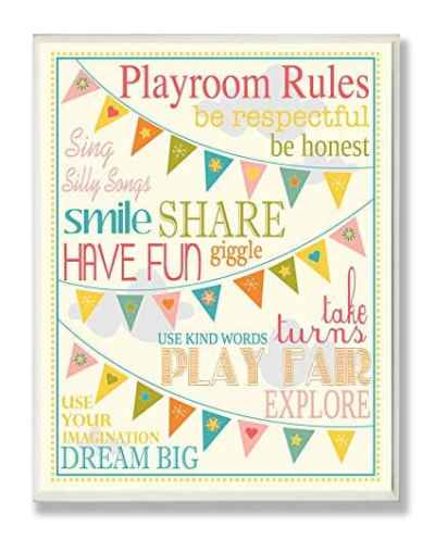 The Best Playroom Decor Finds On Amazon - playroom rules print
