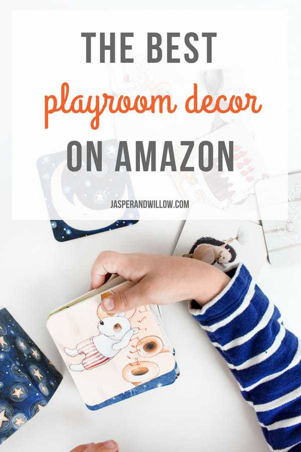 the best playroom decor on Amazon