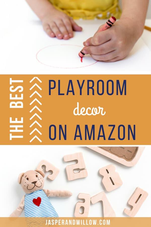 the best playroom decor amazon