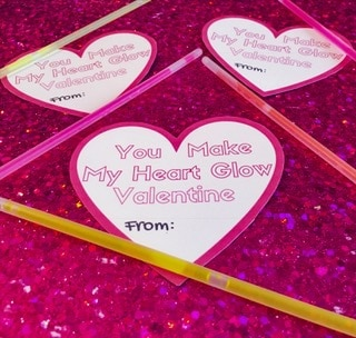 graphic relating to You Make My Heart Glow Printable titled No cost Printable Valentines And Valentines Working day Plans For Little ones