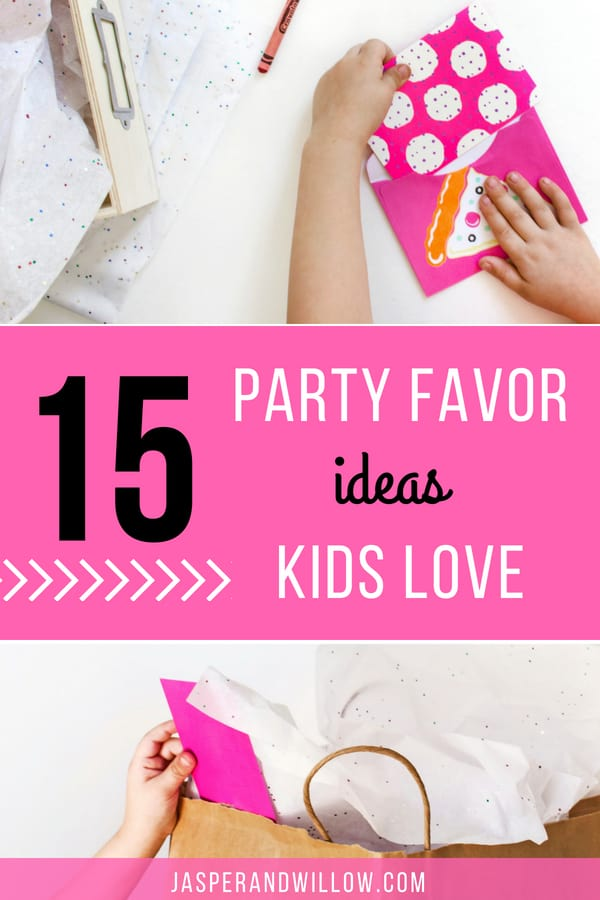 15 party favor ideas kids will love