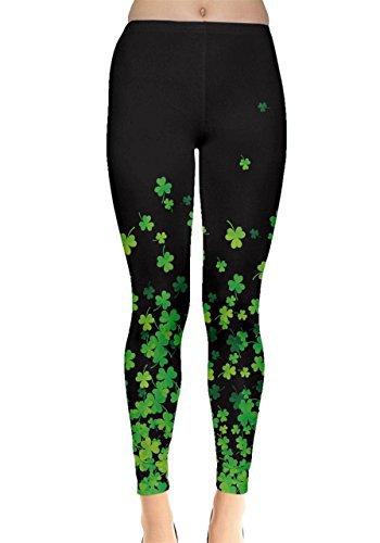St Patrick's Day Shamrock Leggings