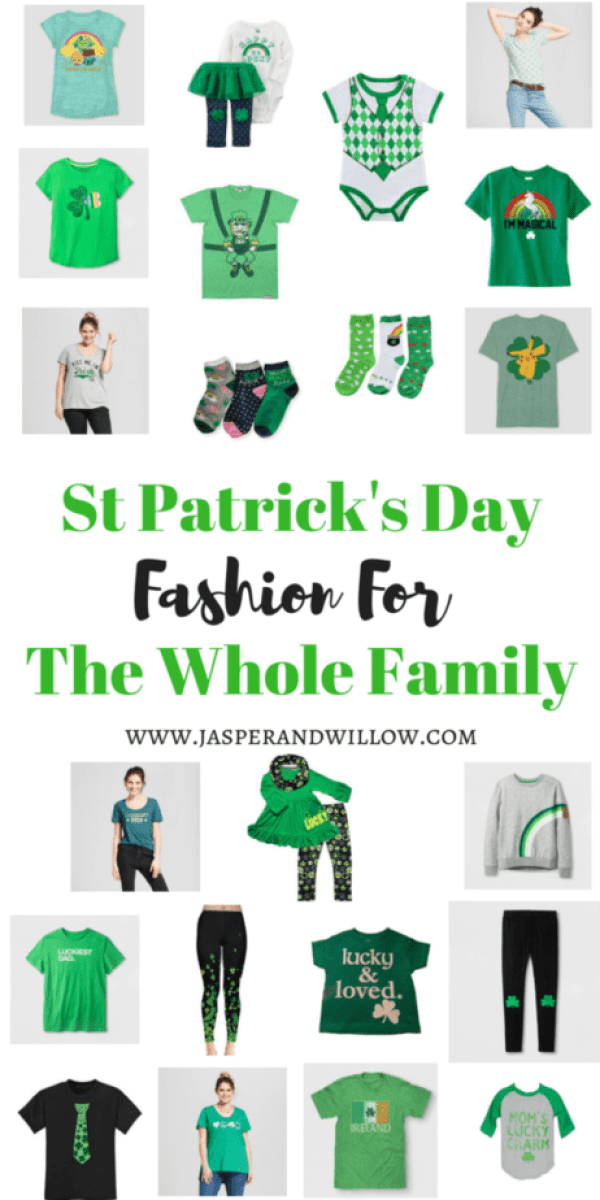 St Patrick's Day Fashion For The Whole Family