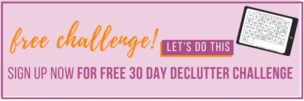 30 day declutter challenge opt in