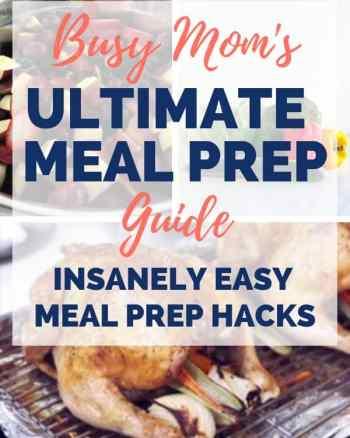 family meal prep guide