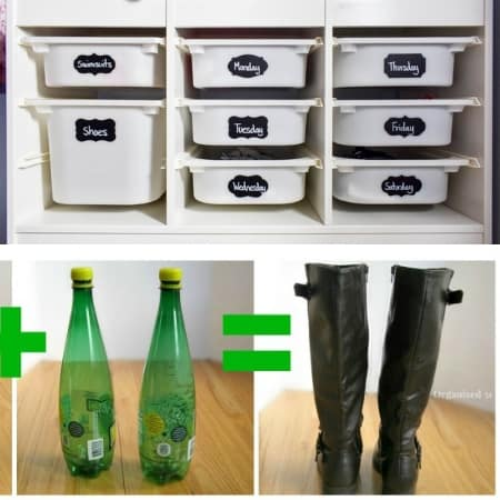 diy closet organization on a budget clothing storage and boots