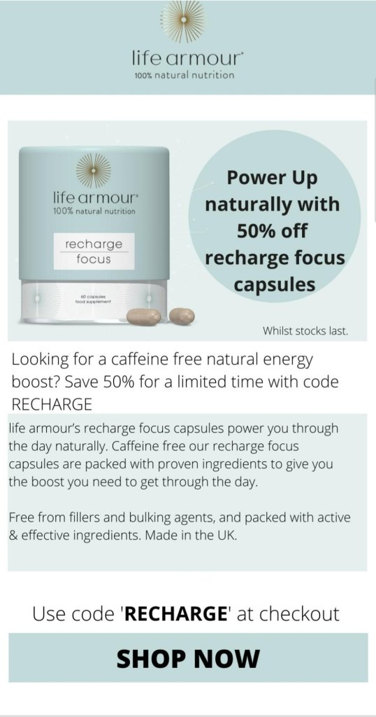 Combat tiredness and boost your energy levels