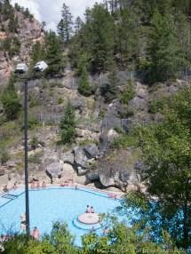 Jasper National Park Radium Hot Springs In Kootenay