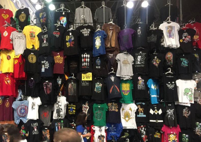 comic con t shirts for sale