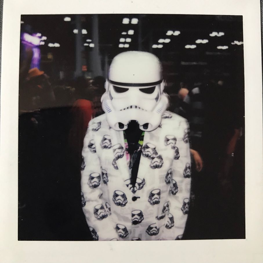 fashionable stormtrooper