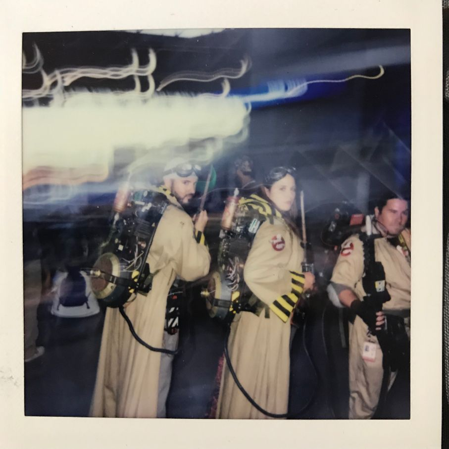 ghost busters cosplay at comic con nyc