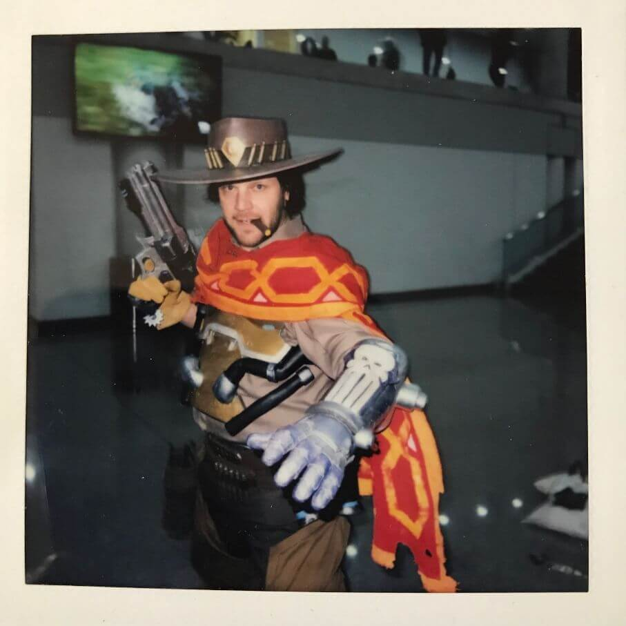 mccree cosplay at comic con 2018