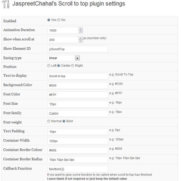 WPJC options