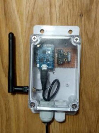V krabičke. AS3935 + ESP8266 Wemos D1 Mini Pro