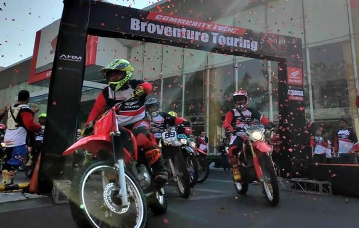 Astra Motor Jateng Rangkul  Komunitas Motocross, Trail, dan Trabasan