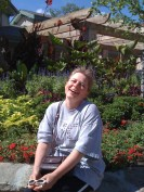 Heather at the zoo