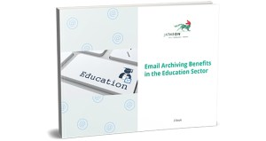 Email Archiving Benefits in the Education Sector cover