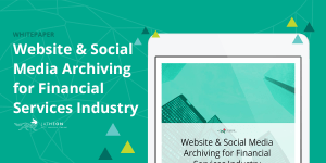 Website Social Media Archiving for Financial Services Industry SM 1200×600