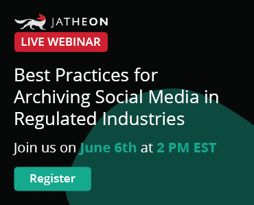 Best Practices for Archiving Social Media in Regulated Industries banner