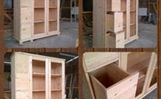 Locker Lemari Buku Faris Wooden Pinewood