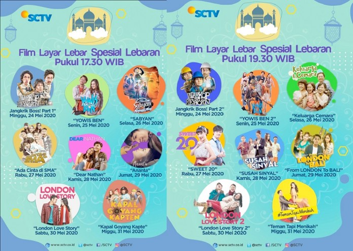 Layar Lebar Spesial Lebaran SCTV
