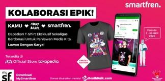 T-Shirt Addy Debil x Smartfren