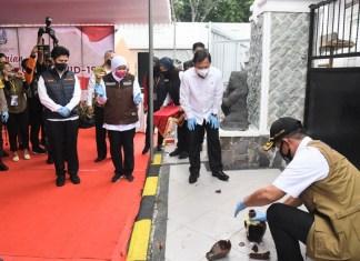Kepala BNPB Resmikan RS Lapangan Covid-19 Jawa Timur