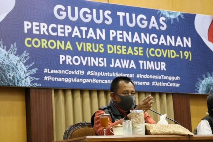 Pemprov Bantah Mengeluh Soal Ruang Isolasi ke Pemkot Surabaya