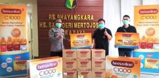Hemaviton C1000 Ajak Warga Surabaya Siap Hadapi Era New Normal